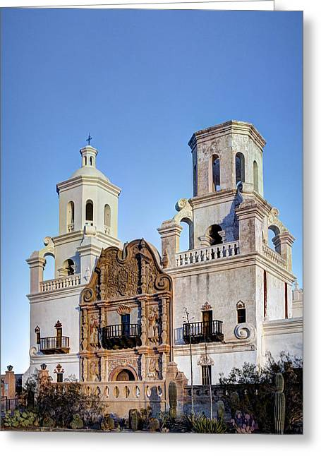 San Xavier Del Bac Greeting Card
