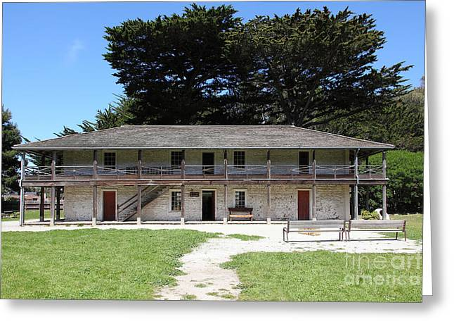 Sanchez Adobe Pacifica California 5d22644 Greeting Card by Wingsdomain Art and Photography