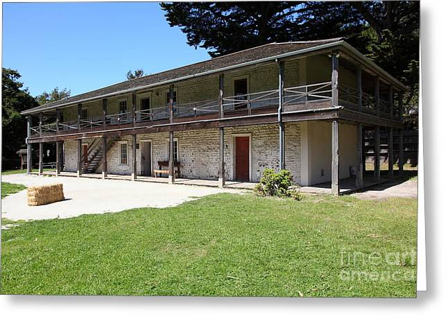 Sanchez Adobe Pacifica California 5d22647 Greeting Card by Wingsdomain Art and Photography