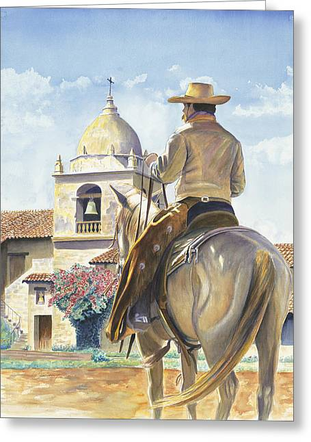 Sanctuary At Carmel Greeting Card