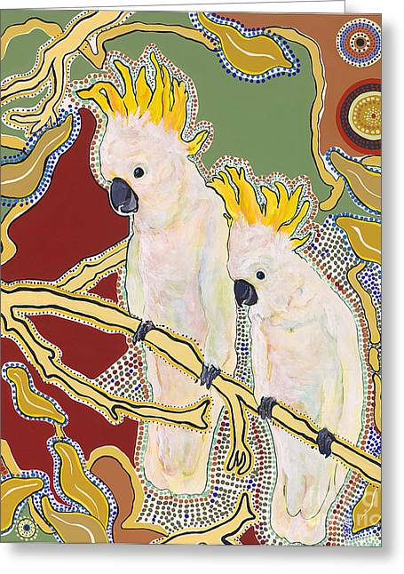 Sanctuary Greeting Card by Pat Saunders-White