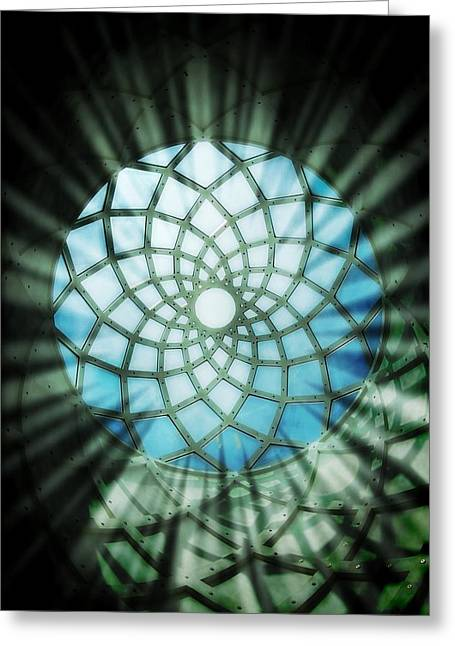 Sanctum Greeting Card by Peter Waters