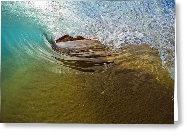 Sand Bar Room Greeting Card by Brad Scott