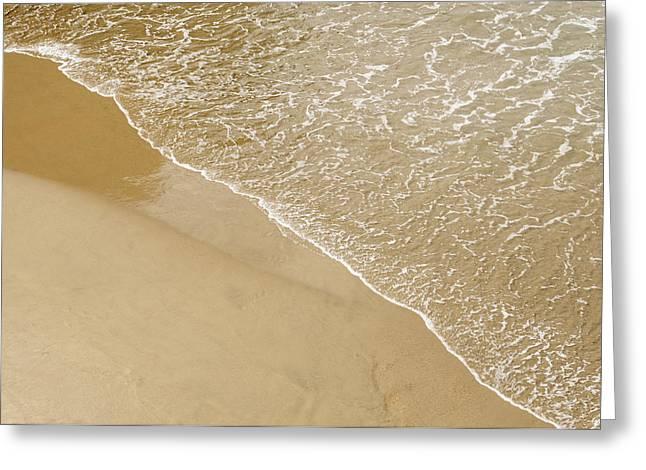 Sand Beach Greeting Card