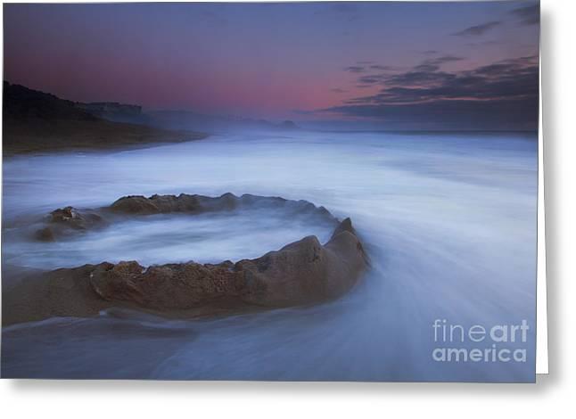 Sand Castle Dream Greeting Card by Mike  Dawson