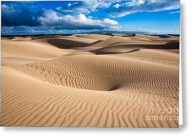 Sand Dune Vortex Greeting Card