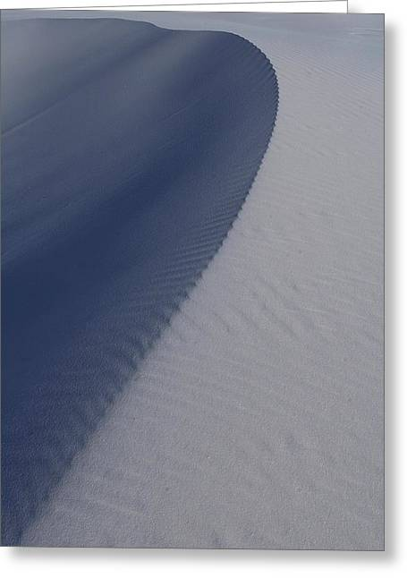 Sand Dunes At White Sands National Monument Greeting Card by Jetson Nguyen
