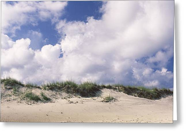 Sand Dunes, Cape Hatteras National Greeting Card by Panoramic Images