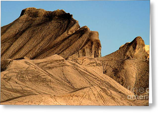 Sand Dunes In Capital Reef Greeting Card by Eva Kato