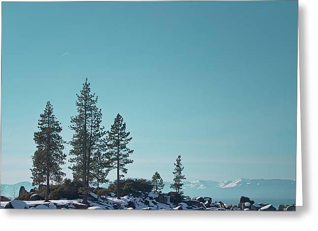Sand Harbor-lake Tahoe Greeting Card by Kim Hojnacki