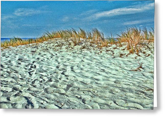 Sand In My Shoes Greeting Card