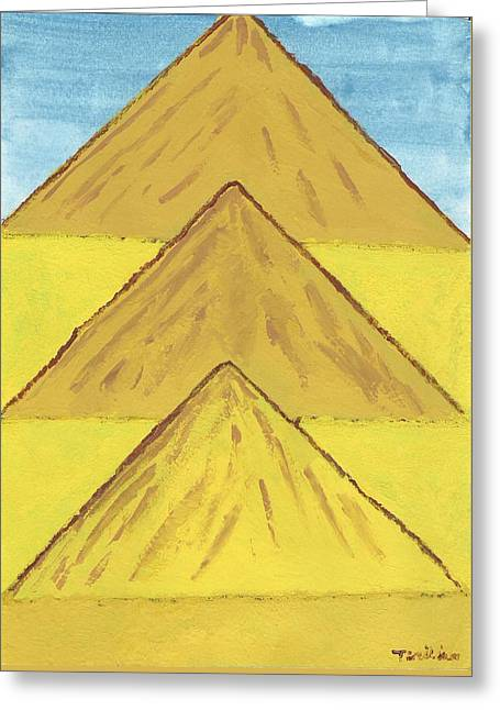 Sand Mountains Greeting Card