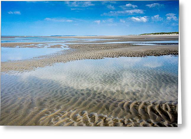 Sand Ripples And Tide Pools  No2 Greeting Card