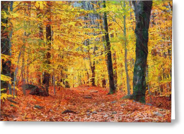 Sand Run Metro Park Greeting Card by Anthony Caruso