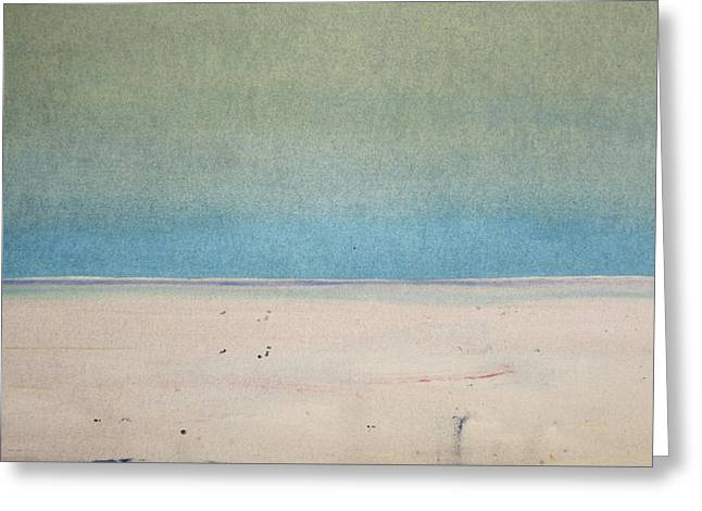 Sand Swept Greeting Card