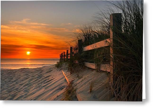 Sandbridge Sunrise Greeting Card