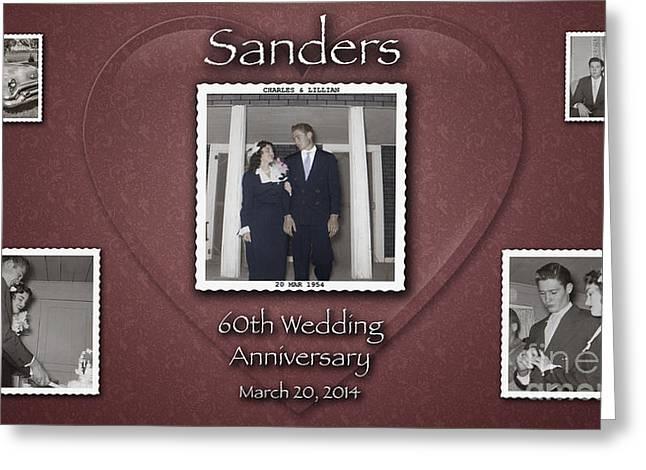 Sanders 60th Anniv Greeting Card