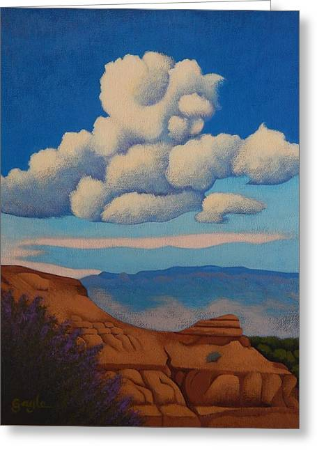 Sandia Clouds Greeting Card