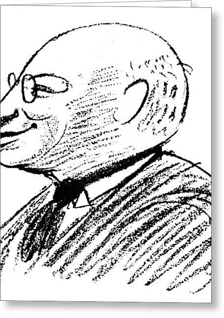 Sandor Ferenczi (1873-1933) Greeting Card