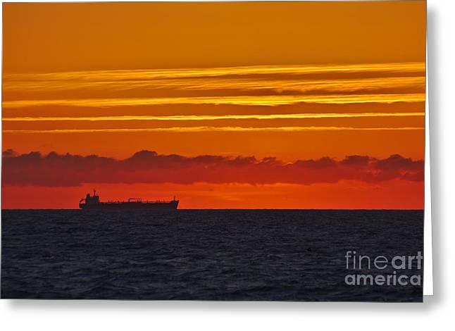 Sandown Sunrise Greeting Card