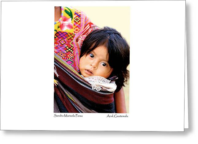 Greeting Card featuring the photograph Sandra Marisela Perez by Tina Manley