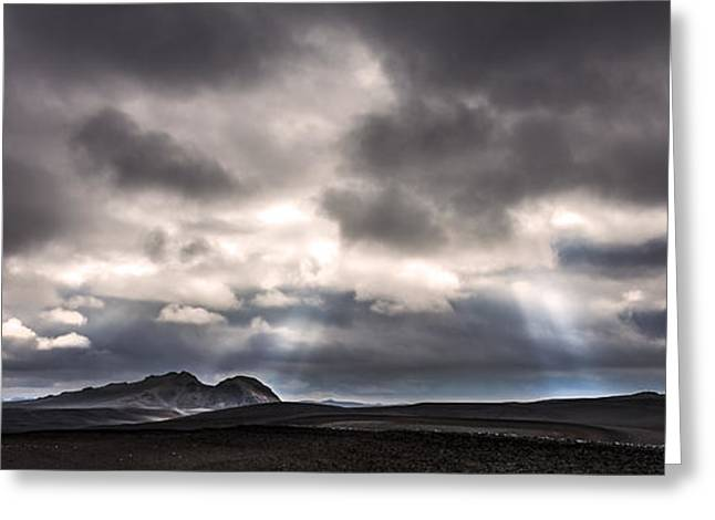 Greeting Card featuring the photograph Sands Of Time by Gunnar Orn Arnason