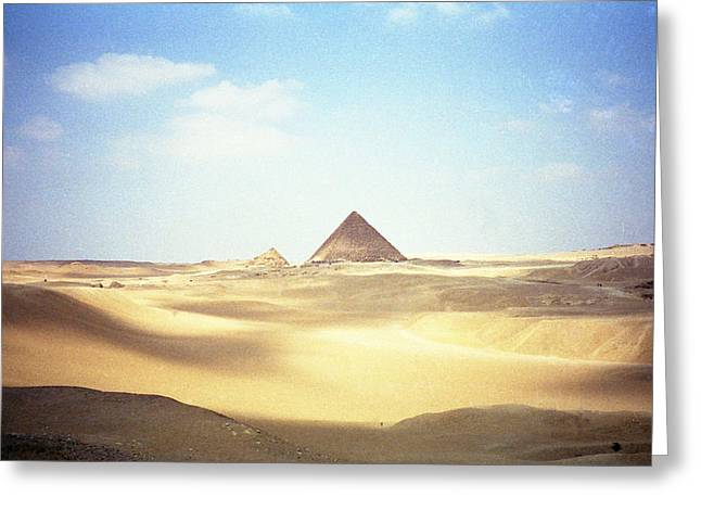 Sands Of Time Greeting Card by Robert  Moss