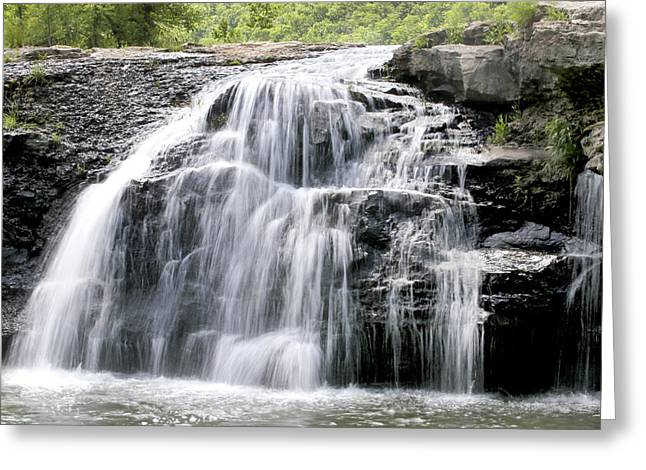 Sandstone Falls Greeting Card