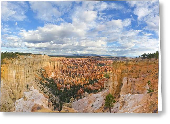 Sandstone Hoodoos Bryce Canyon N P Greeting Card by Yva Momatiuk John Eastcott