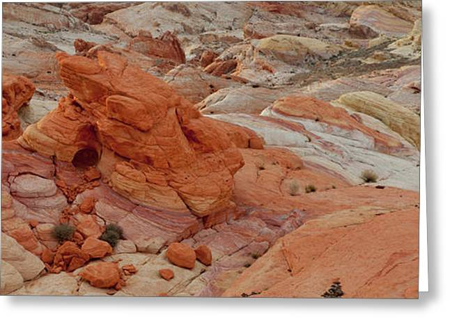 Sandstone Patterns, Valley Of Fire Greeting Card