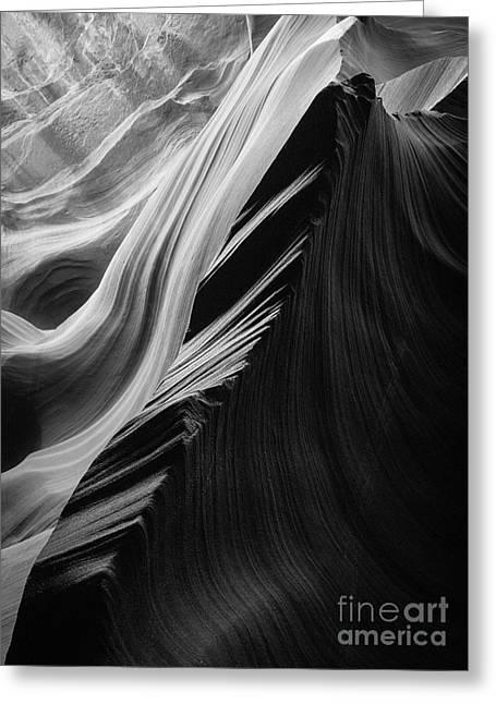 Sandstone Sonata Greeting Card by Inge Johnsson