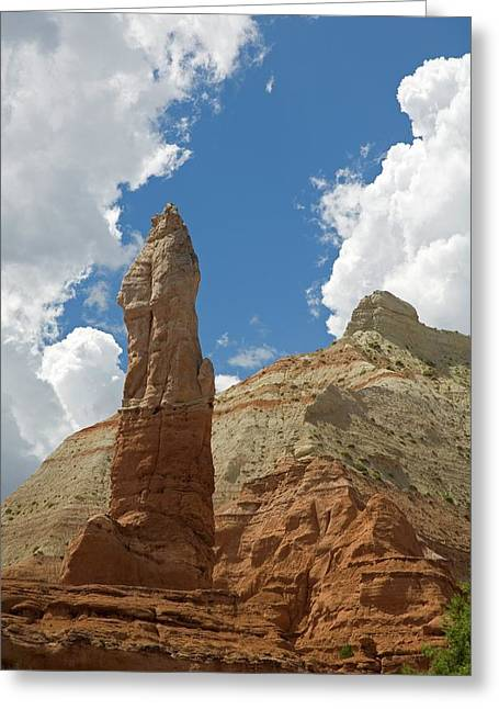 Sandstone Spire Greeting Card by Jim West