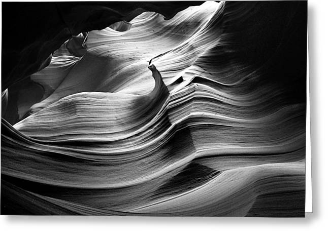 Sandstone Wave Greeting Card