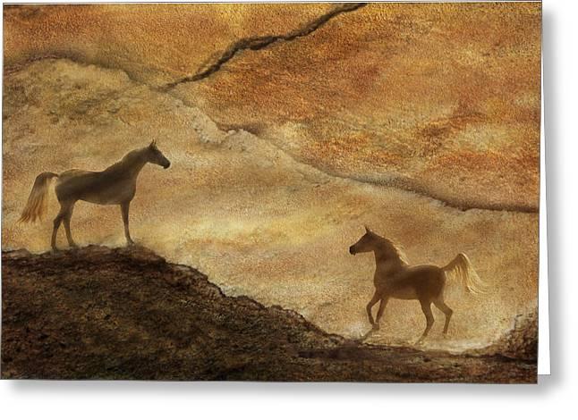 Sandstorm Greeting Card