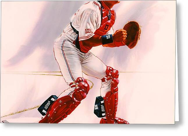 Sandy Alomar Greeting Card