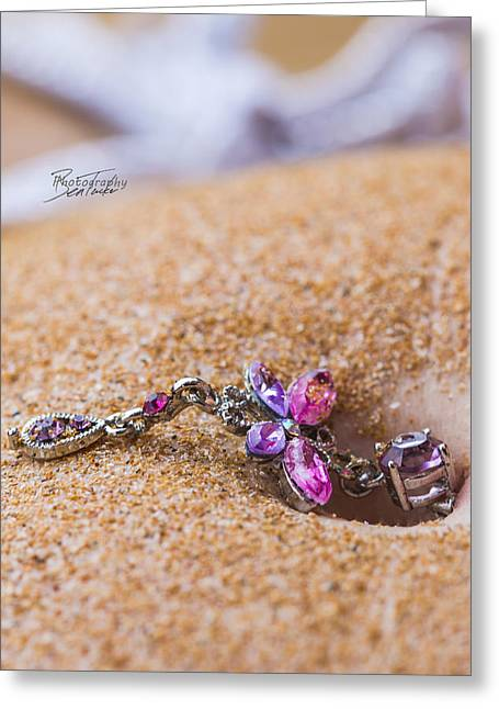 Sandy Butterfly Greeting Card