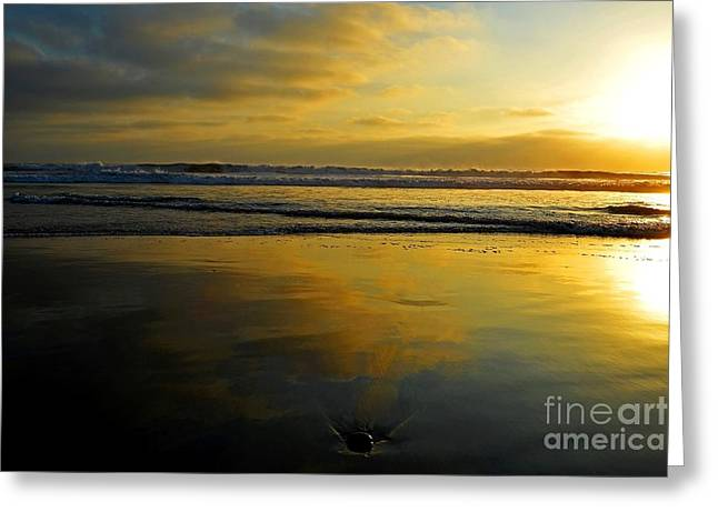 Sandy Reflections Greeting Card