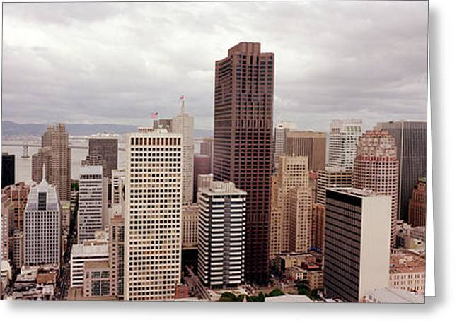 San Francisco Skyline Greeting Card by Jon Neidert