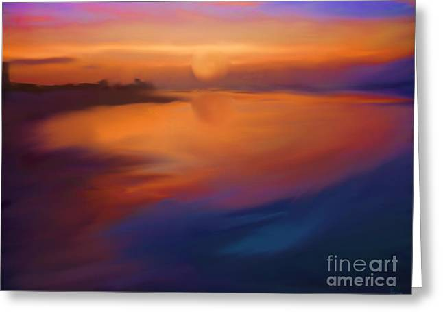 Sanibel Sunrise Greeting Card by Jeff Breiman