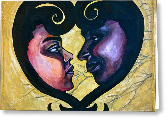 Sankofa Love Greeting Card