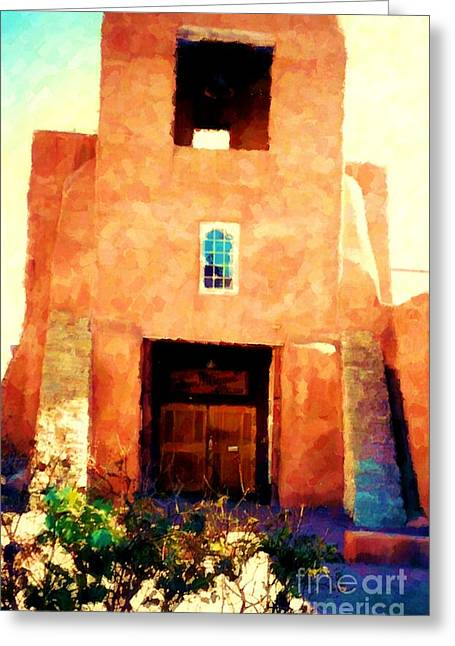 Sanmiguel Greeting Card by Desiree Paquette
