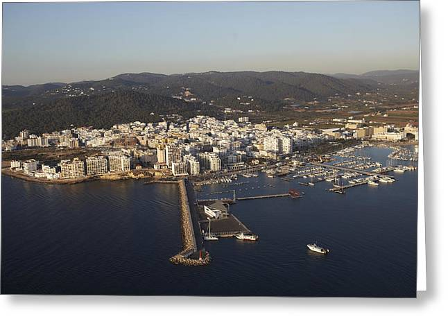 Sant Antoni De Portmany, Ibiza Greeting Card by Xavier Durán