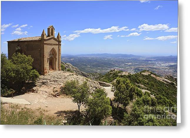 Sant Joan Chapel Spain Greeting Card