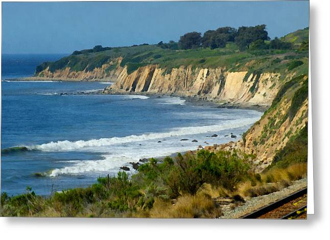 Santa Barbara Coast Greeting Card