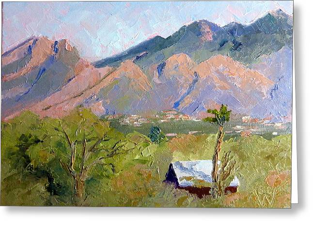 Santa Catalinas Greeting Card