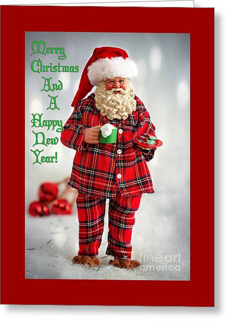 Santa Claus Is Coming To Town Greeting Card