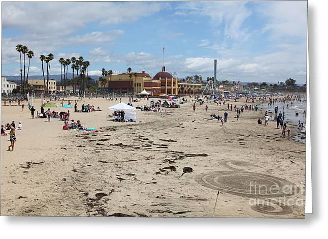 Santa Cruz Beach Boardwalk California 5d23776 Greeting Card by Wingsdomain Art and Photography