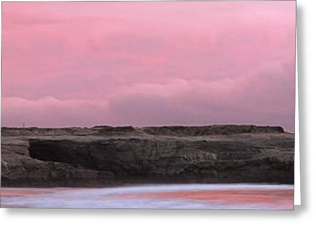 Santa Cruz Lighthouse State Park Panorama Greeting Card