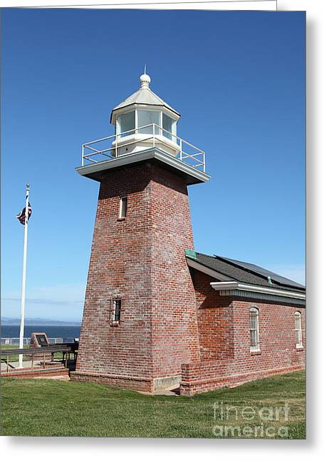 Santa Cruz Lighthouse Surfing Museum California 5d23937 Greeting Card