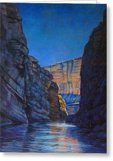 Santa Elena Canyon Big Bend Texas Greeting Card by Dan Terry